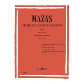 Jacques F. Mazas - Studi Melodici e Progressivi per Violino (Op. 36). Volume 2.