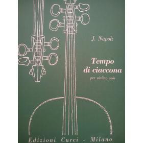 Jacopo Napoli - Tempo di Ciaccona.