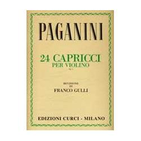 Paganini - 24 capricci per violino op 1