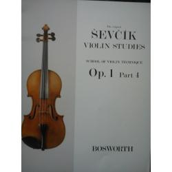 Otakar Sevcík - Violin Studies (Op. 1, Part 4).