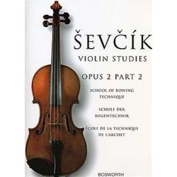 Sevcik - violin studies op 2 part 2
