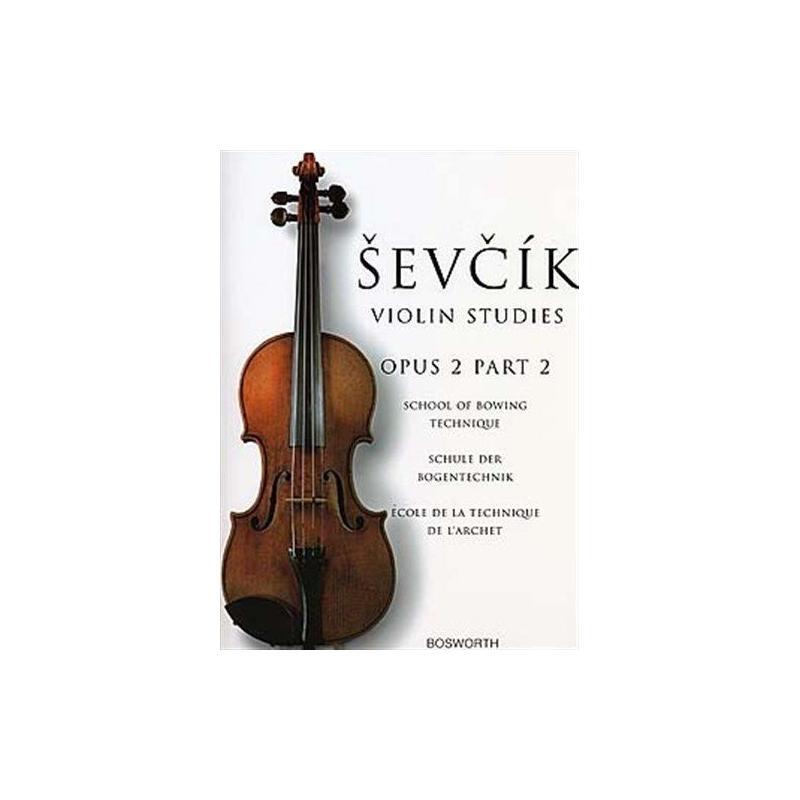 Sevcik - violin studies op 2 part 2