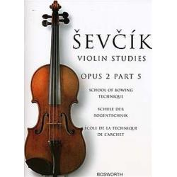 Sevcik - violin studies op 2 part 5