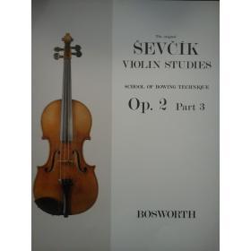 Otakar Sevcík - Violin Studies (Op. 2, Part 3)