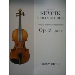 Sevcik - violin studies op 2 part 6