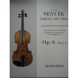 Sevcik - violin studies op 6 part 1