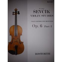 Sevcik - violin studies op 6 part 2